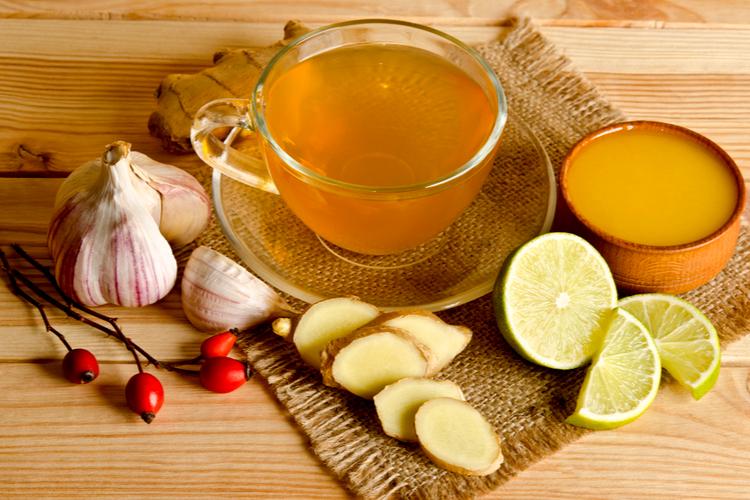 Como preparar o chá de alho